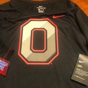 Ohio State Long Sleeve Nike Dri-Fir Shirt